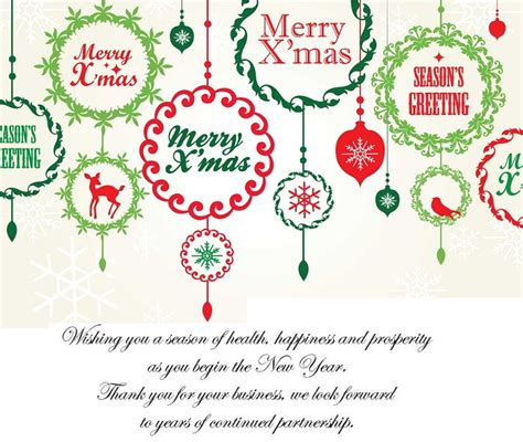 best christmas greeting messages for business cards