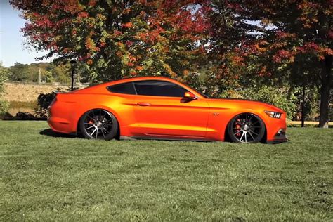 ford mustang gt  niche wheels video