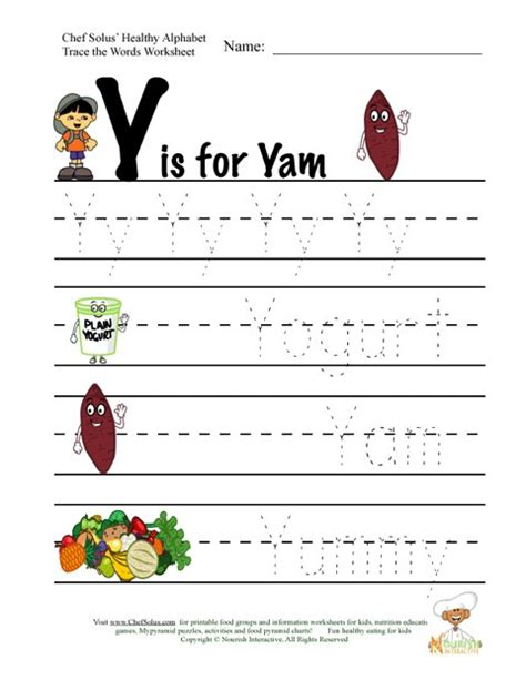 the letter p rm easilearn fitness and nutrition alphabet words using letter y 25852