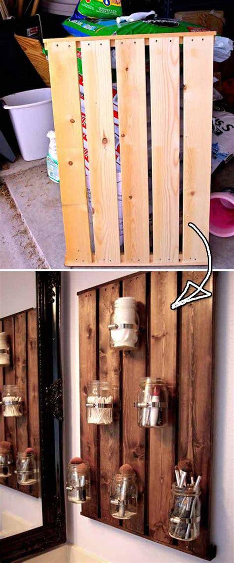 beautiful diy bathroom pallet projects   rustic