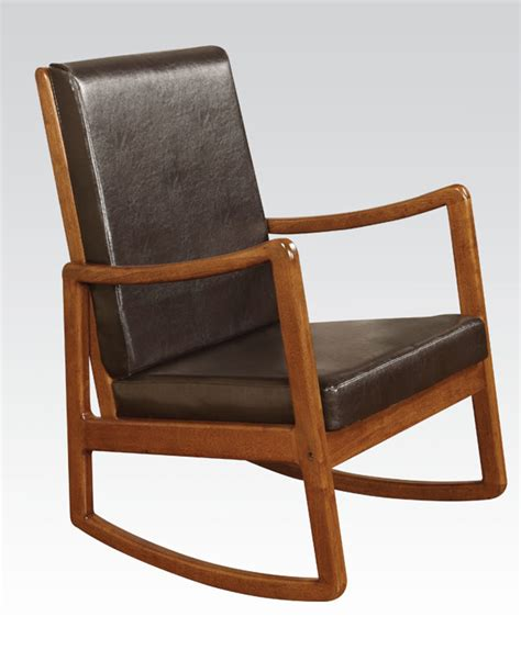 acme furniture oak rocking chair ac59302