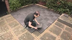 Terrassenfliesen Holzoptik Frostsicher : dura composites installation guide how to install dura tile youtube ~ Buech-reservation.com Haus und Dekorationen