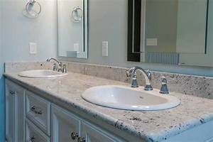 how to replace a bathroom countertop homeadvisor With how to replace bathroom sink countertop