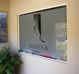 window decals lettering focal point signs With office door lettering