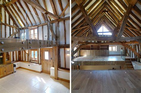 barn mezzanine elspeth beard architects wix farm barn