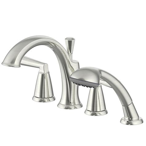 collection roman tub faucet  hand shower ultra