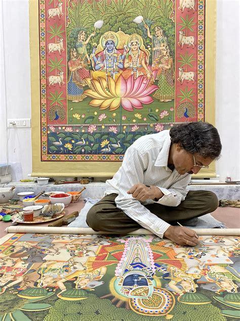 Devotion via Pichwai Painting with Rajaram Sharma ...
