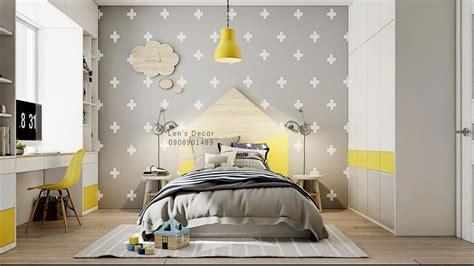 yellow kids rooms     combine bright decor