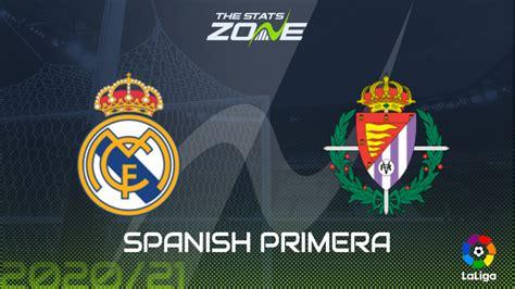 2020-21 Spanish Primera – Real Madrid vs Real Valladolid ...