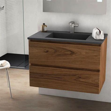 id 233 e d 233 coration salle de bain cordoue meuble salle de bain bois noyer 81 cm vasque 3