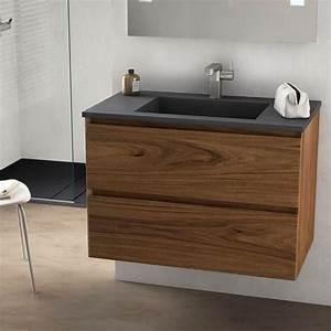 Idee decoration salle de bain cordoue meuble salle de for Salle de bain design avec meuble salle de bain 60 cm castorama