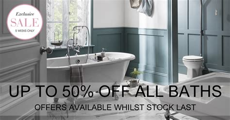 Bathroom Brands Sale Up To 50% Off
