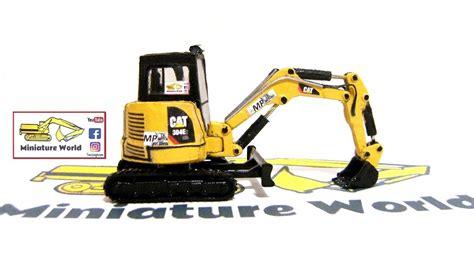 review cat  cr  mini hydraulic excavator custom model  miniature world