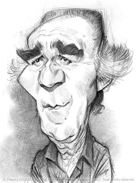 disegni a matita di personaggi famosi michel piccoli caricature caricature disegni e ritratti