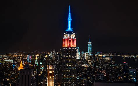 empire state color empire state building facts travel leisure