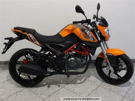 2015 Generic Ksr Moto Grs 125 Action Different Colors