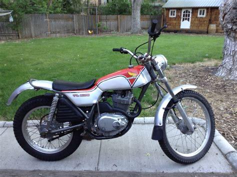 1976 Honda Tl250 Trials Motorcycle