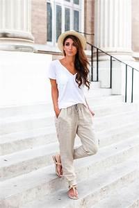 Look Chic Femme : 1001 tenues inspirantes pour savoir que mettre avec un pantalon beige ~ Melissatoandfro.com Idées de Décoration