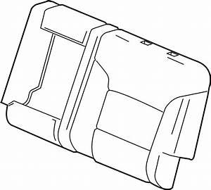 Chevrolet Silverado 2500 Hd Seat Back Cover  Split Bench