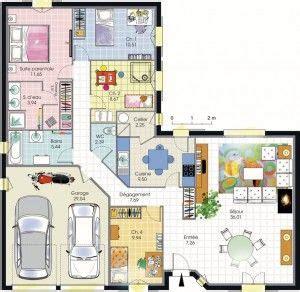 plan age 3 chambres 17 meilleures idées à propos de plan maison 4 chambres sur