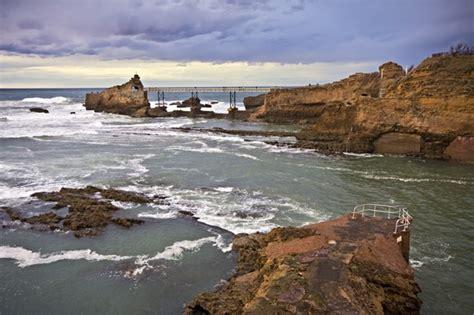 photo biarritz on the rock photos de biarritz et