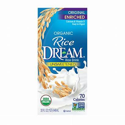 Rice Unsweetened Dream Milk Enriched Dairy Plant