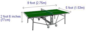 dimension table de tennis de table professional table tennis players related keywords professional table tennis players