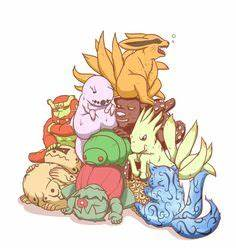 All the lovely tailed beasts (sorry can't remember they're ...