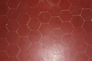 tomettes hexagonales en terre cuite rouge carrelage With tomette parquet