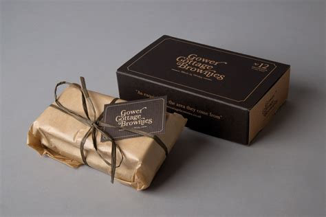 Gower Cottage Brownies by Packaging Gower Cottage Brownies By Kutchibok Ams