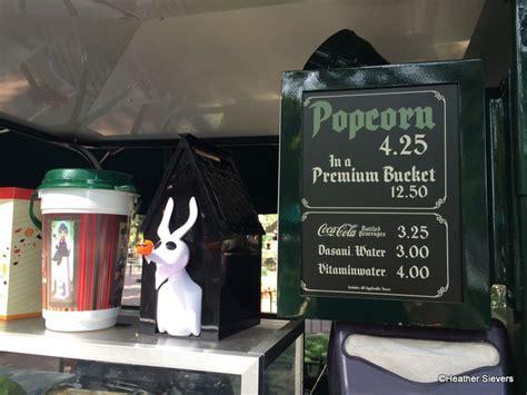 haunted mansion popcorn bucket  disney food blog