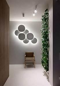 Spiegel Deko Ideen : wanddeko mit beleuchtung wohn design ~ Frokenaadalensverden.com Haus und Dekorationen