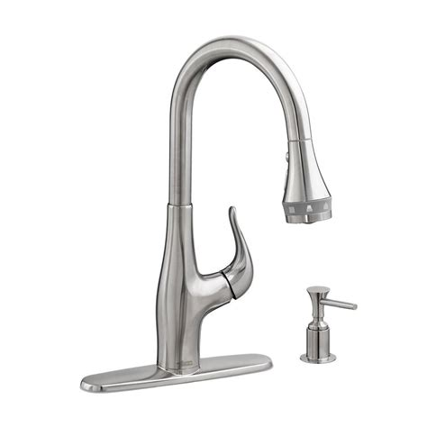 kitchen faucets with soap dispenser standard xavier selectflow single handle pull