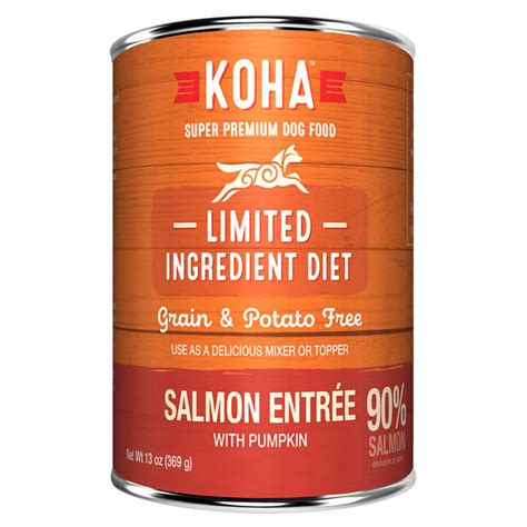 Koha Canned LID Salmon Pate for Dogs - Feed Bag Pet Supply
