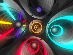 Colorful Speakers VJ loops by Taras Gesh Dribbble