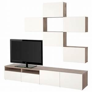 Mur Tv Ikea : ikea best combinaison meuble tv motif noyer teint gris selsviken brillant blanc glissi re ~ Teatrodelosmanantiales.com Idées de Décoration