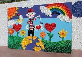murales escolares creativos Buscar con Google
