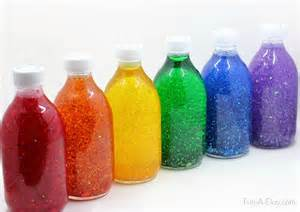 Stand On Liquid by Make These Gorgeous Glitter Jars In A Rainbow Of Colors