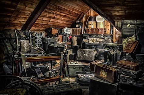 25 things in your attic the worst places to store your precious items