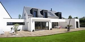 constructeur maison bretagne morbihan finistere With lovely maison toit plat en l 0 maison neuve avec piscine toit plat