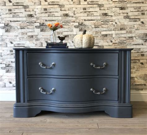 Is Soapstone Soft by Fusion Mineral Paint In Soapstone With A Custom Soft Black