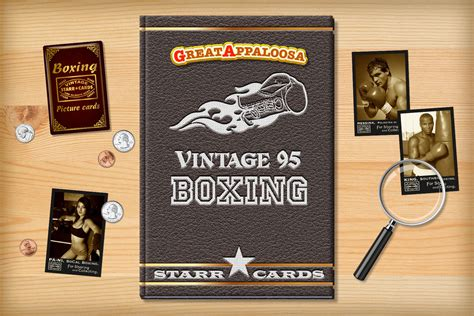 Check spelling or type a new query. Custom Boxing Cards - Vintage 95™ Series Starr Cards