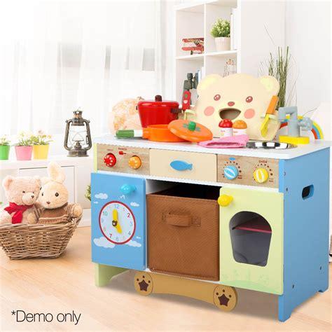 wooden kitchen playsets wooden kitchen playset spark toys