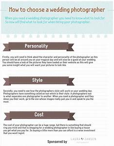 How to choose a wedding photographer infographics bin for How to choose a wedding photographer