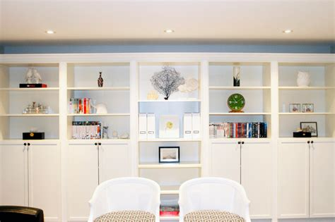 Ikea Le Arbeitszimmer by Built In Shelf And Bookcase Modern Wohnzimmer