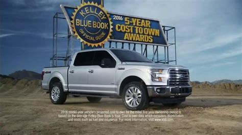 2016 Ford F-150 Tv Commercial, 'kelley Blue Book Award