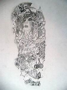 half sleeve tattoo designs for women sketch - Google ...