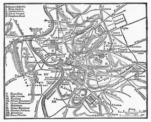 Roman Empire  Map Of Rome Photograph By Granger