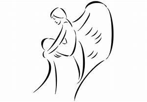 Bilder Schwarz Weiß Gemalt : wandtattoo engel 3 eine zarter engel als wundersch ner wandsticker wall ~ Eleganceandgraceweddings.com Haus und Dekorationen