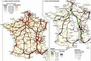 Reseau Autoroute France : carte du r seau autoroutier et ferroviaire flickr photo sharing ~ Medecine-chirurgie-esthetiques.com Avis de Voitures